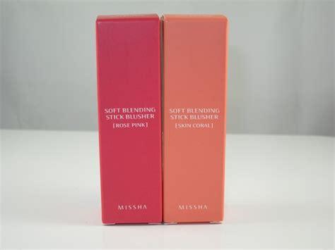 Harga Missha Soft Blending Stick Blusher missha soft blending stick blusher review swatches