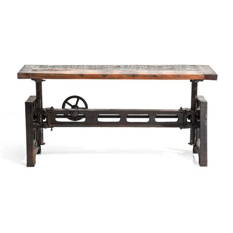bench seat height designer industrial bench seat 1200x350x440 660 height adjustable specialist