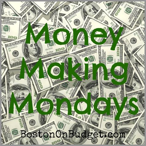 Earn Money Through Surveys - monday making monday earn money through surveys boston on budget