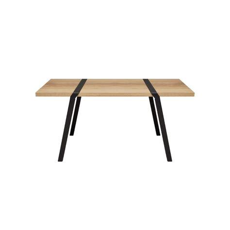Plateau Bois Brut Pour Table 793 by Pi01 Paire De Tr 233 Teaux En Acier M 233 Tal Noir Blanc Ou Gris