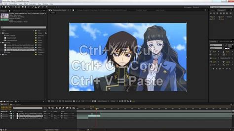 tutorial edit vscom after effects tutorials amv editing after effects how