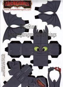 train dragon 164 dragons toothless paper figure 164 rare