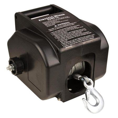 boat electric winch 12v electric winch for boat 12v 2000lbs crazy sales