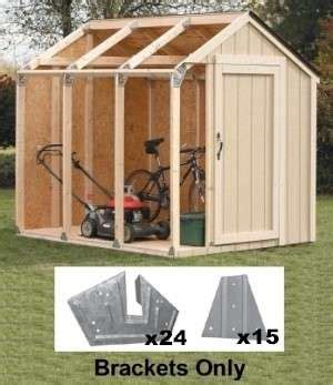 Kits To Build A Shed by 2x4basics 174 Shed Kits Creative Shelters