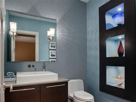 hgtv bathroom design half bathroom or powder room hgtv