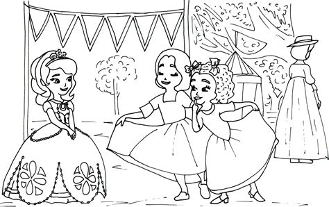 sofia coloring pages pdf sofia the first coloring pages to print
