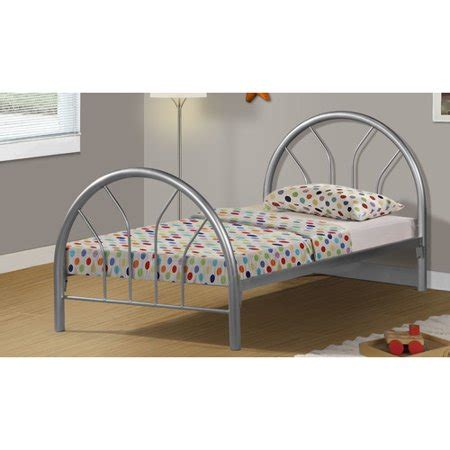 walmart size bed frame dnp bed size silver metal frame only