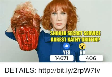 Kathy Meme - should secretservice arrest kathy griffinp yes no 14671