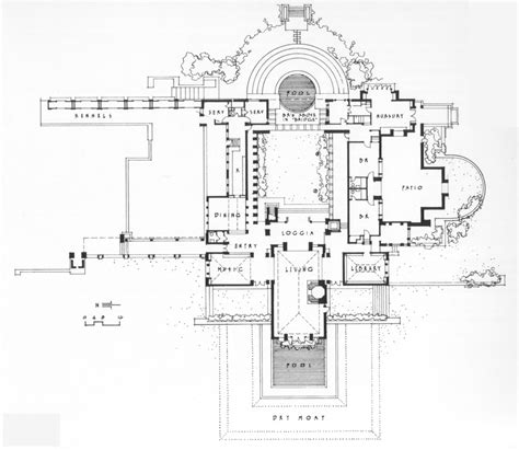 hearst castle floor plan architecture in hollywood homes of the stars