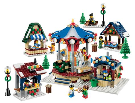 christmas village sets boris bricks lego creator 10235 winter village market