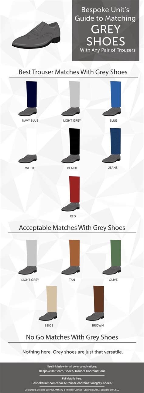 color shoes how to pair grey shoes with different trousers bespoke unit