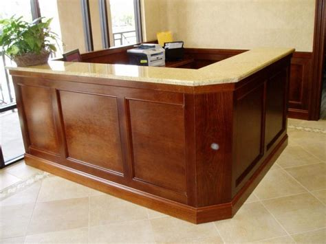 Custom Reception Desk Custom Reception Desk Photos