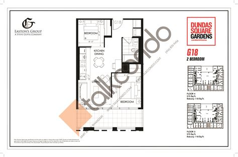 square garden floor plan dundas square gardens condos talkcondo