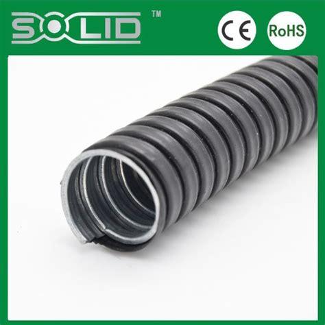 Selang Kawat Spiral Selang Hose Pertamini seng berlapis canggih galvanis baja logam fleksibel kabel spiral selang tanpa jaket untuk