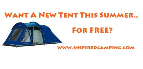 Tent Giveaway - inspired cing tent giveaway cool cing and gling uk and worldwide