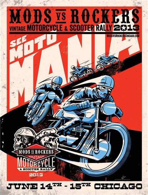 Vintage Scooter S Never Die Patch Motorcycle Vespa Service Racing my cave poster scooter rally caves poster and my