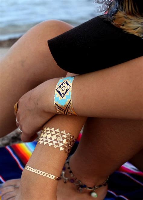 tribal bracelets tattoos 1000 ideas about gold on flash tats