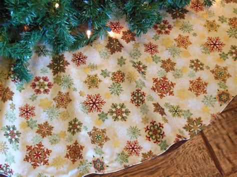 snowflake christmas tree skirt gold tree skirt snowflake