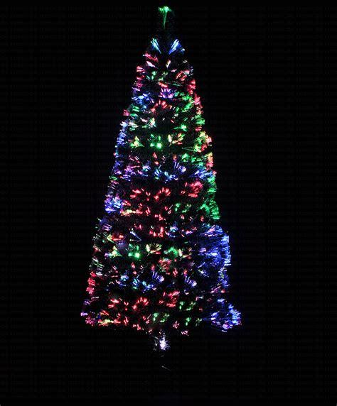 weihnachtsbaum 180cm led mit farbwechselnden glasfaser