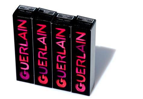 Guerlain La Robe Lipstick Trendy Pop Shades Series 2 guerlain la robe deliciously shiny lip colour ommorphia bar