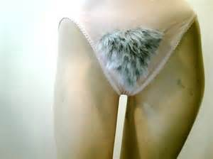 grey pubic hair large old lady gray pubic hair panties merkin 22
