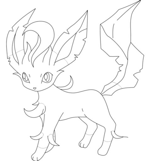 related keywords suggestions for leafeon drawing