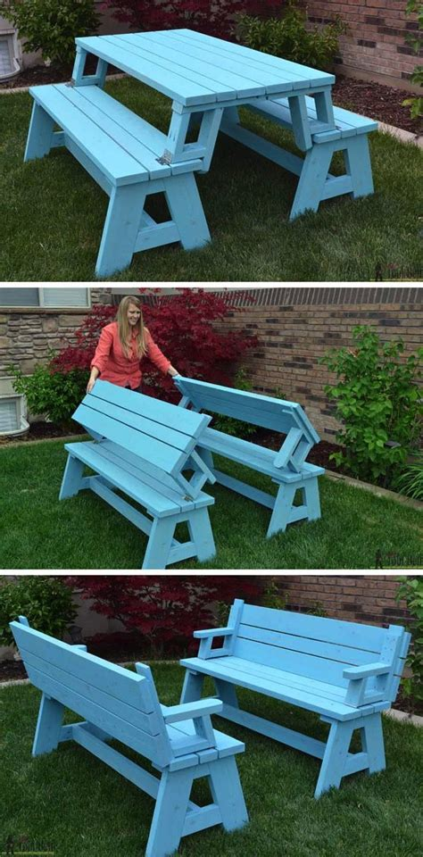 creative  diy outdoor weekend projects foldable