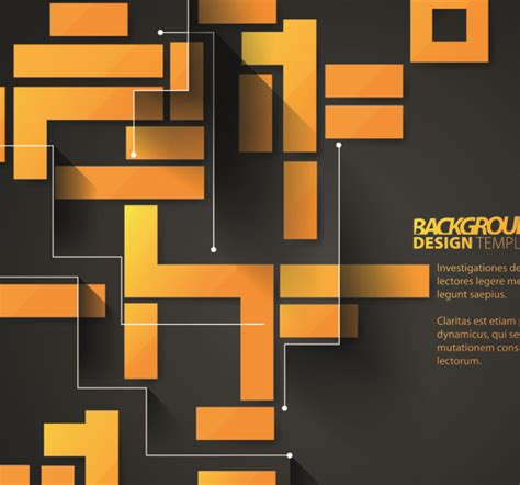creative cubes vector backgrounds 04 free