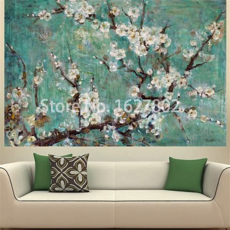 modern paintings for living room hand painted flowers modern abstract oil paintings on