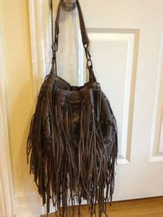 Bag Pin By Bonita by Pink Magenta Suede Leather Fringe Purse By