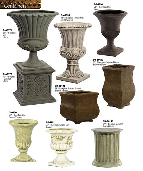 Urn Planters decorative planters and urns