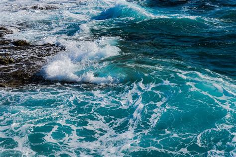 sea waves water  photo  pixabay