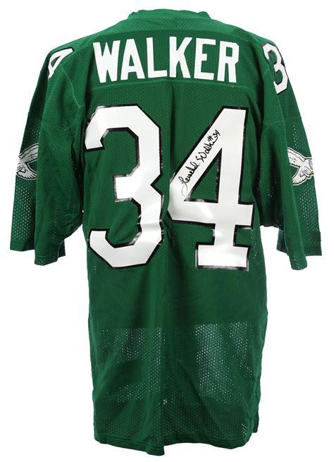 walker philadelphia lot detail 1992 94 herschel walker philadelphia eagles signed home jersey jsa