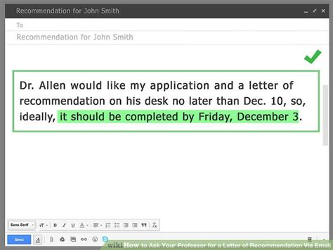Excuse Letter To Your Professor how to ask your professor for a letter of recommendation