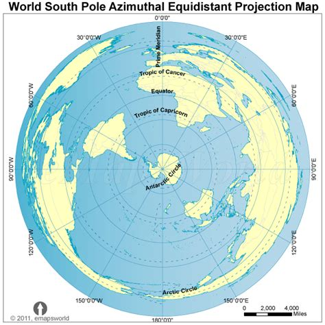 flat earth equidistant map projection flat earth map is just an azimuthal projection flat