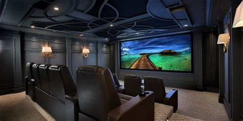 historic home home theater elan projector screens
