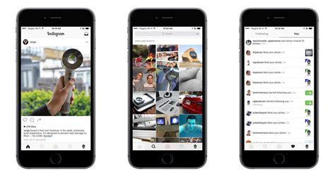 jov design instagram instagram rolls out new modern design