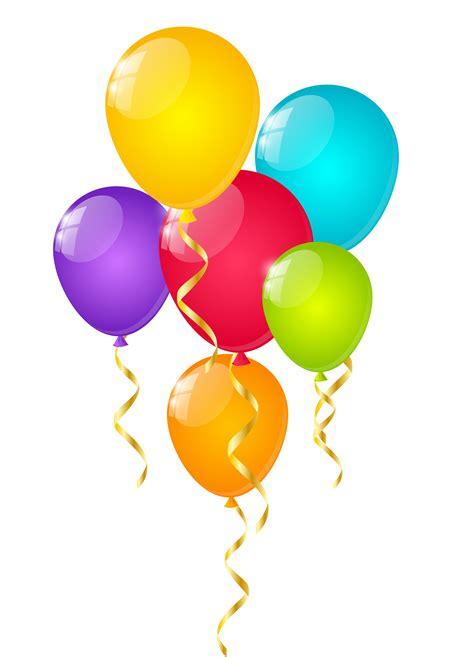 imagenes cumpleaños bombas imagen globos de colores de cumplea 241 os png im 225 genes
