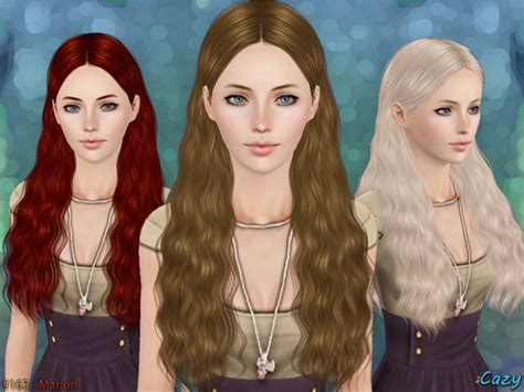 sims hair viphair downloads cazy s marion hairstyle set