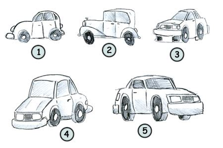 You Can Draw Cars how to draw cars