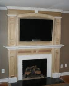 awesome modern style wooden tv wall fireplace mantel ideas
