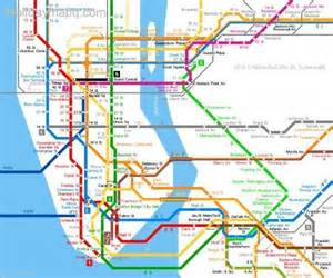 Subway Map Ny by New York Subway Map Map Holiday Travel Holidaymapq Com