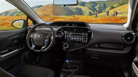Prius C Interior by All New 2018 Toyota Prius C Subcompact Hybrid Release Date