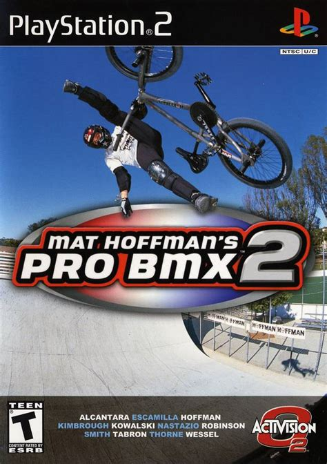 Mat Hoffman Pro Bmx 2 Xbox 360 mat hoffman s pro bmx 2 box for playstation 2 gamefaqs