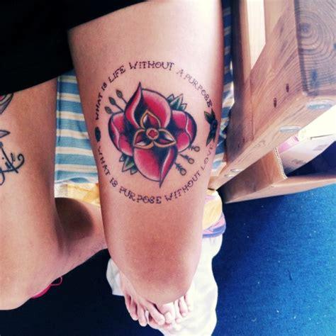 la dispute flower tattoo la dispute flower
