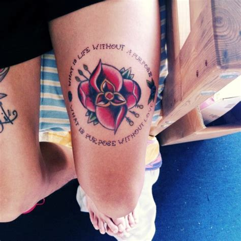la dispute tattoo la dispute flower