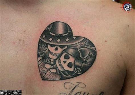 skeleton couple tattoo skeleton tattoos