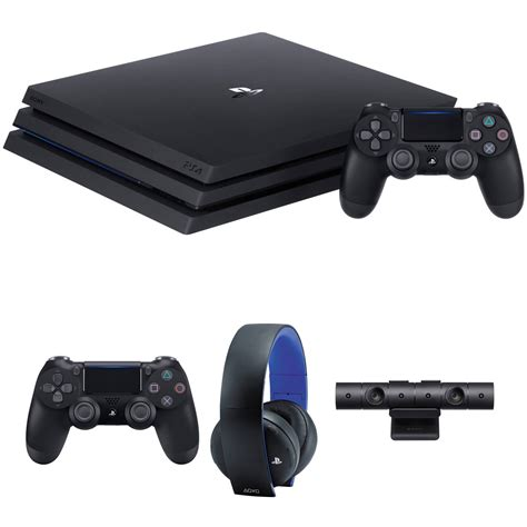 sony playstation 4 console sony playstation 4 pro ps4 gaming console kit with