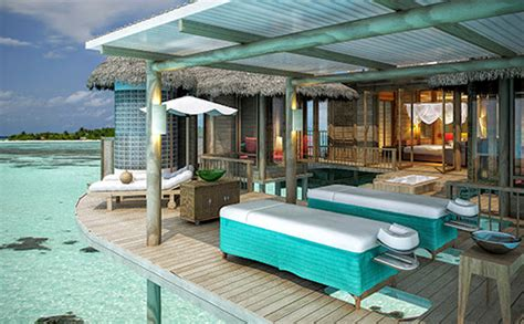 Kitchen Centre Islands own a villa at soneva jani residences maldives com