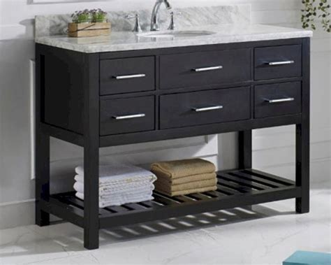 48in bathroom vanity caroline estate espresso 48in vanity by virtu usa vu ms